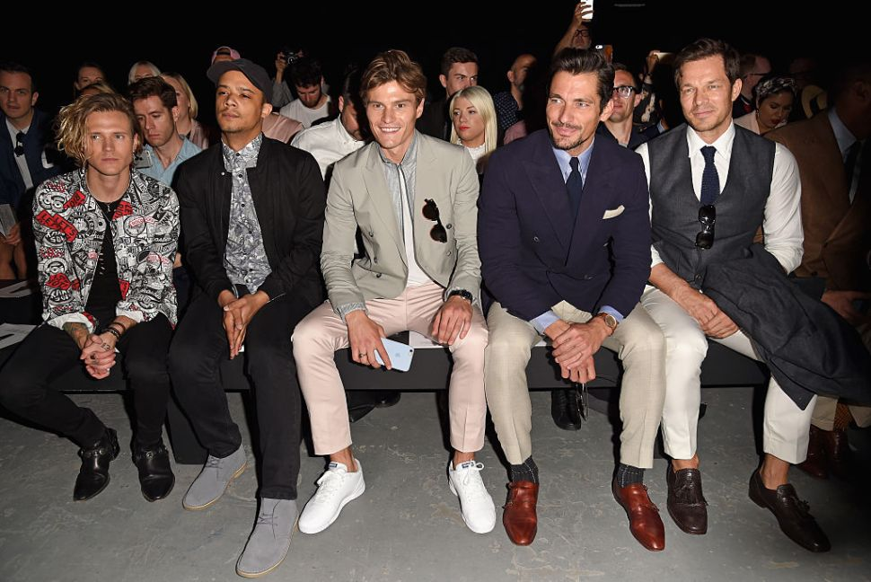 Who Was King of the London Men's Collections FROW?