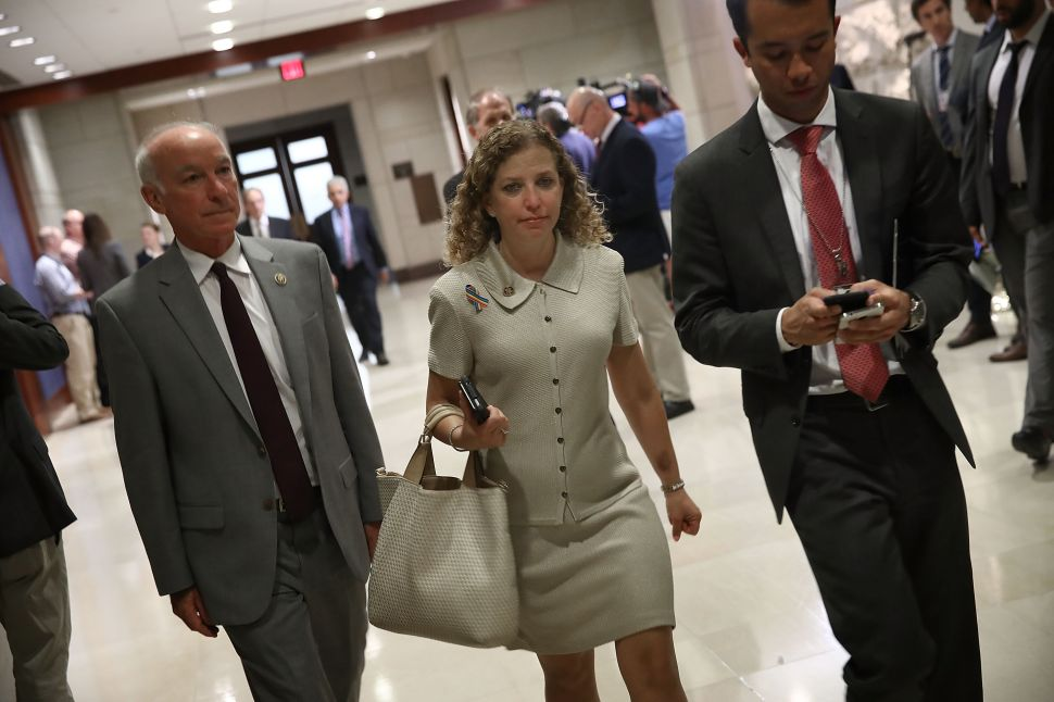 DNC Chair Debbie Wasserman Schultz Is Finally Kicked to the Curb