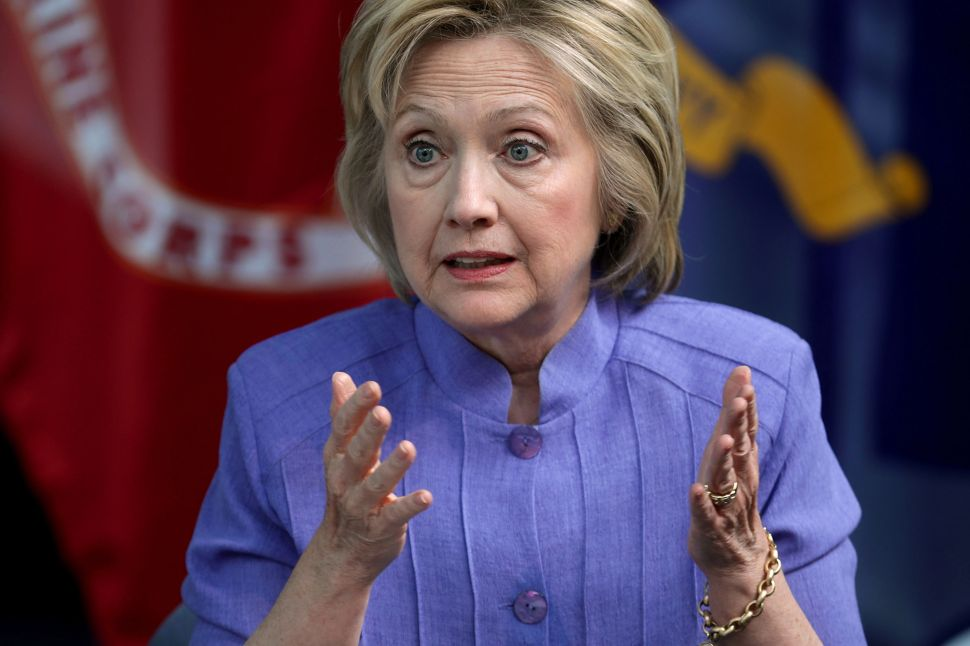 Revolt by Security Personnel May Define Hillary as the Weak Candidate