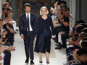 Pier Paolo Picciolo and Maria Grazia Chiuri