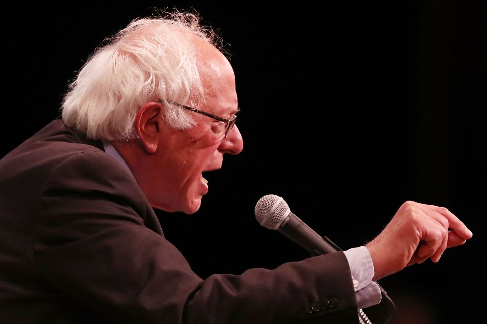 Mainstream Media Falsely Reports Sanders' Endorsement of Clinton