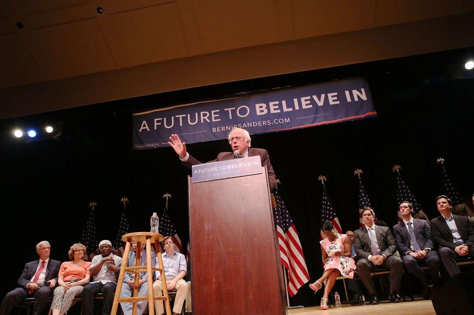 Bernie Sanders Wants to Overthrow New York's Political Establishment