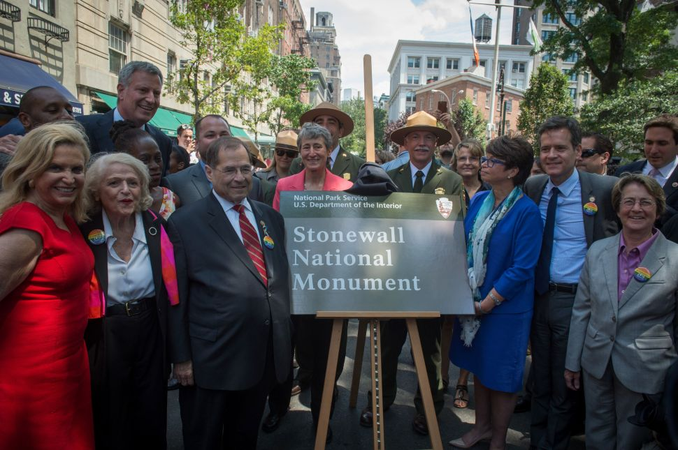 Obama Administration Makes Stonewall's Monumental Status Official