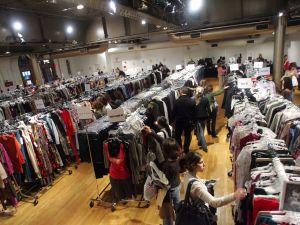 Guests shop at the Billion Dollar Babes Sample Sale