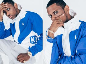 Fabolous in the Kith and Colette collab