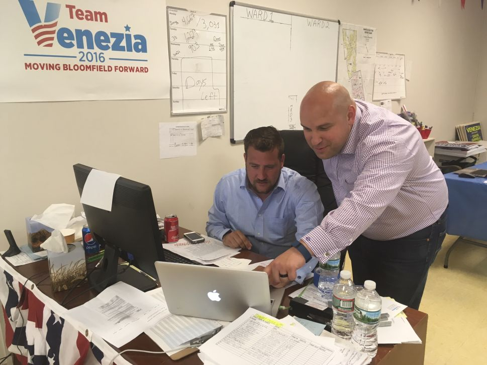 Venezia: Voter Turnout Points to 'Big Victory' in Bloomfield Mayoral Primary