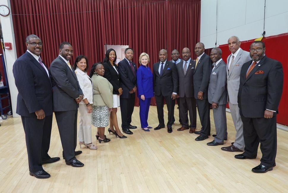 NJ Black Mayors' Alliance Backs Hillary Clinton for Prez
