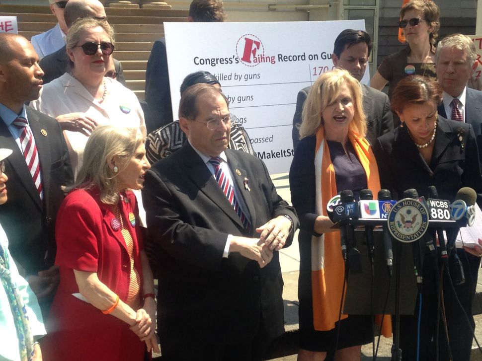 After Successful Senate Filibuster, NYC Congress Members Demand House Vote on Guns