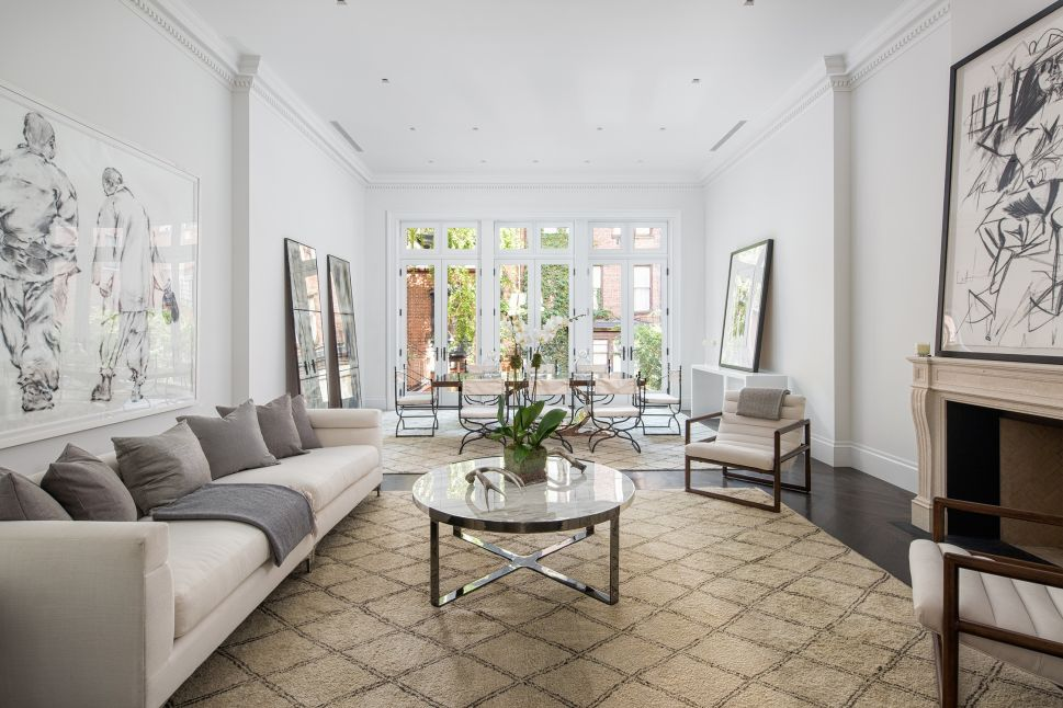 This Greenwich Village Townhouse Is the Perfect Party Locale