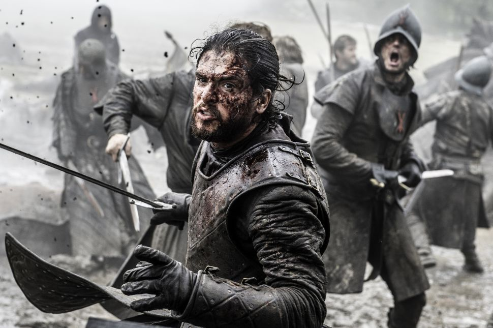 Leaked 'Game of Thrones' Script: Jon Snow Gets Into a Fight at McDonalds