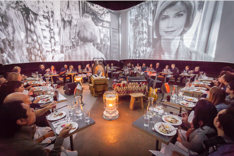 L.A. Gets Next-Level Dinner Theater