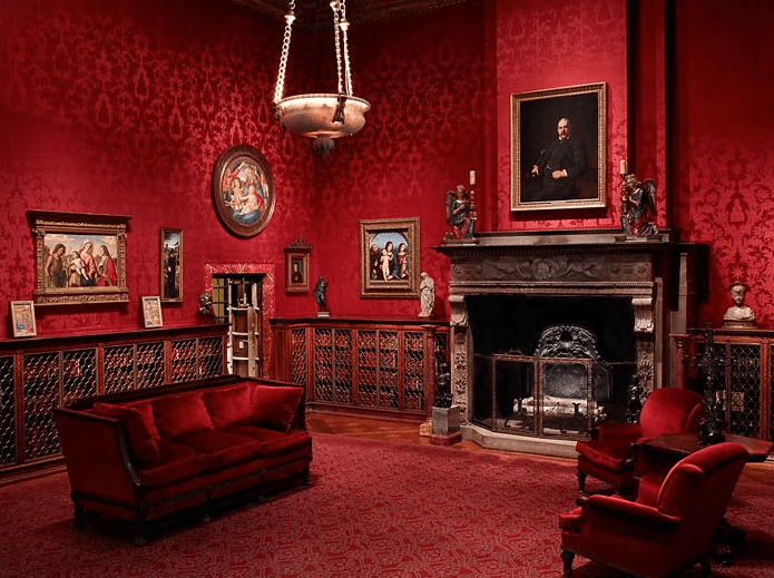I Love the Interior Design of JP Morgan's Untouched Study at The Morgan Museum