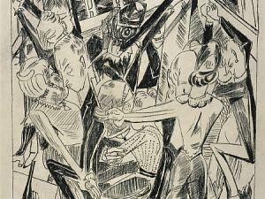 Malepartus (Blatt 8) from Die Hölle