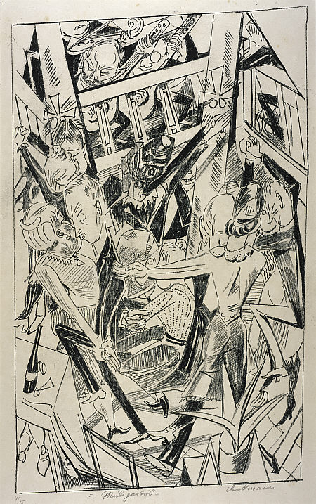Don't Overlook Prolific German Artist Max Beckmann (a Picasso & Braque Contemporary)