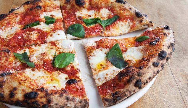 Roman's - margherita pizza Pizza, restaurant, Brooklyn photo: celeste sloman / ny observer