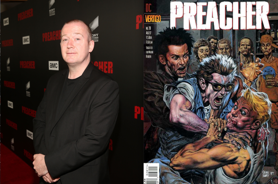 'Preacher' Scribe Garth Ennis Talks Faith, Blasphemy and Getting Your Story On-Screen