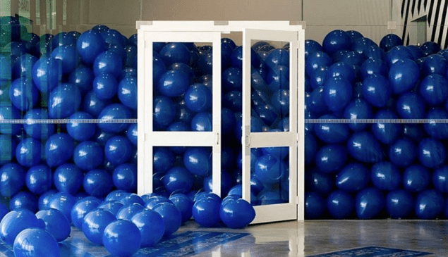 An artwork by Martin Creed.