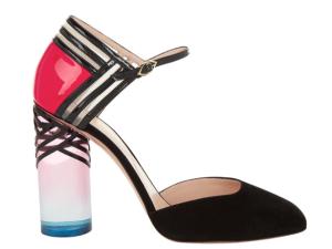 A Zaha Hadid-inspired shoe