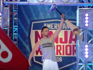 Zach Gowen on American Ninja Warrior.
