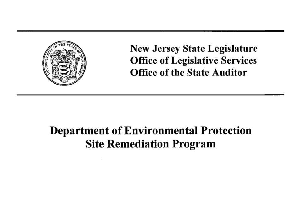 OLS: NJDEP Paid $3 Million in Salaries for Work that Never Took Place