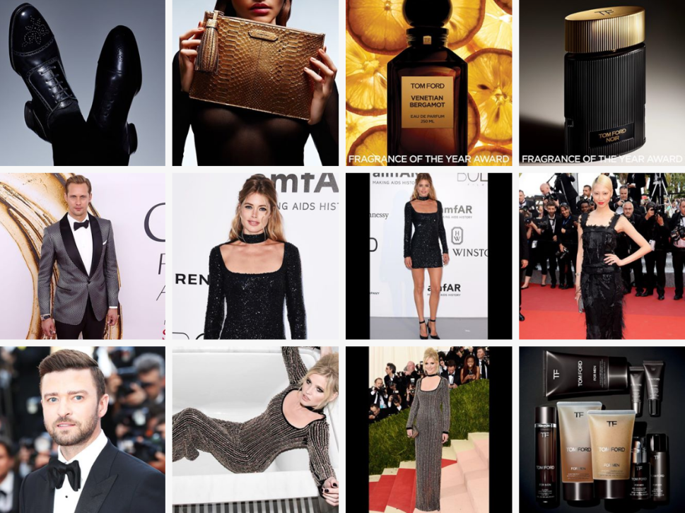 Tom Ford Has Mastered the Shoppable Instagram Feed