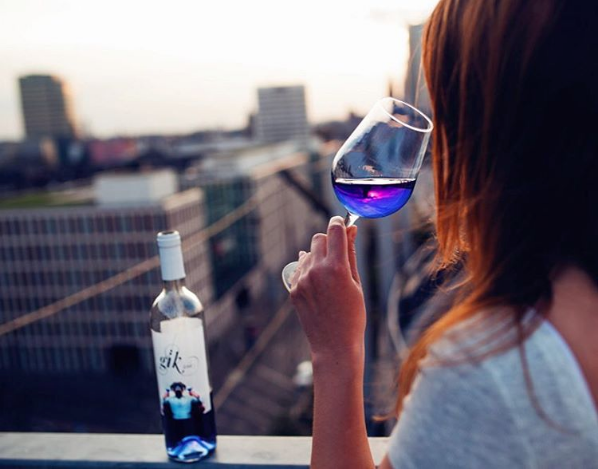 Will Blue Wine Become the Drink of the Summer?
