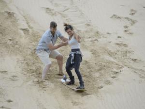 Sandsurfing is A LOT like falling in love.