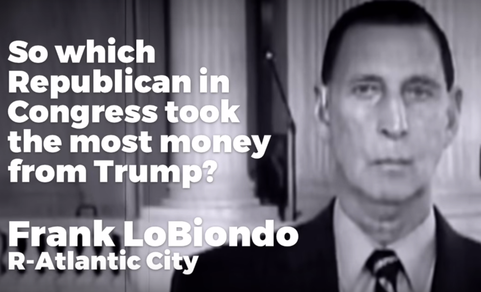 New Ad Targets LoBiondo for Trump Connection