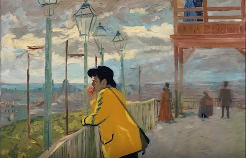 The First Ever Oil Paint Animated Film Depicts Van Gogh's Demise