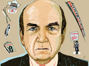 "Calvin Trillin reflects on a half century of reporting and ""deadline poetry."""