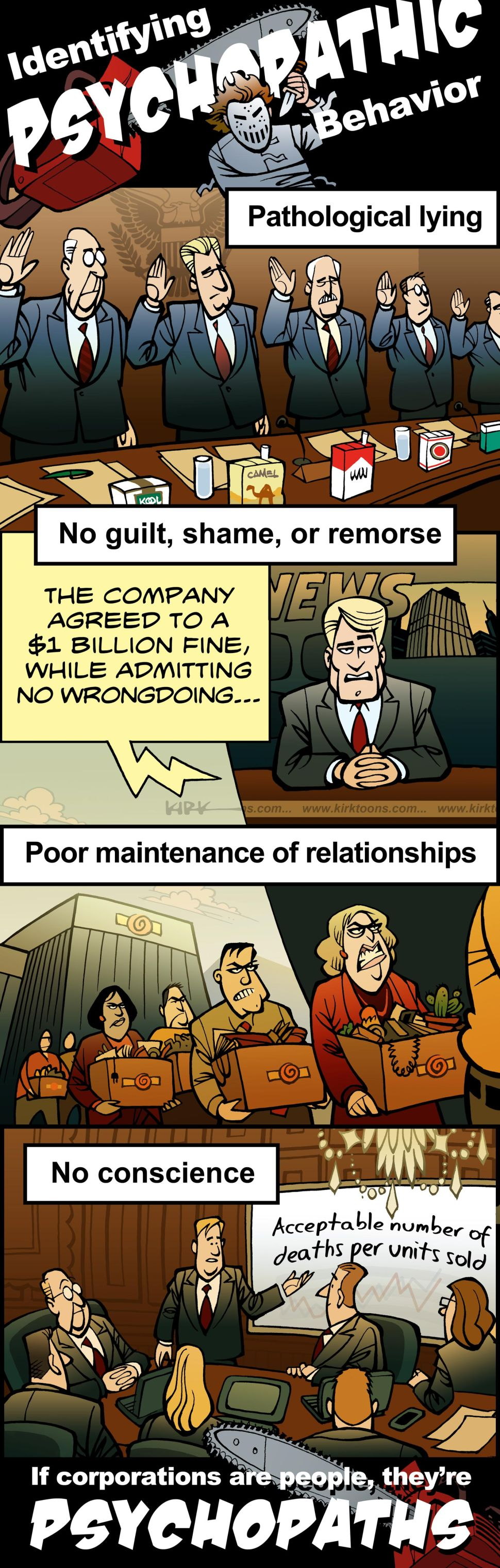Here's How to Explain Corporate Behavior