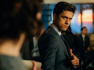 Aaron Tveit as Garreth Ritter in 'BrainDead'