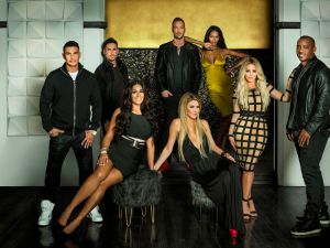 The cast of Famously Single.