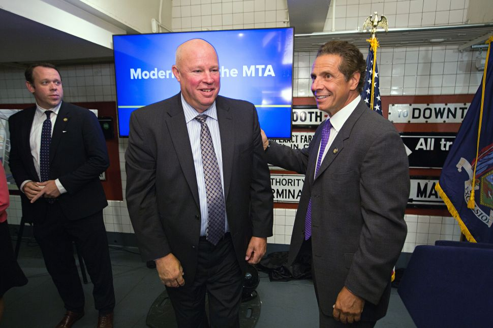 Cuomo Touts Fancy New Subway Cars as Shift From 'Old Rhythm of Government'