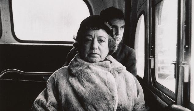 Lady on a bus, N.Y.C. 1957