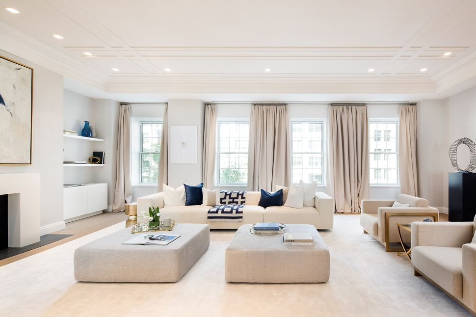 This $11.9M Floor-Through Perch Provides Views of Two Park Avenue Icons