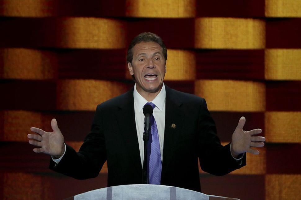 Andrew Cuomo Touts New York's 'Progressive Government'