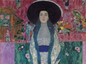 Portrait of Adele Bloch-Bauer II, 1912, which was restituted after it was seized by the Nazis.