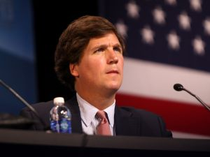 Tucker Carlson, who founded The Daily Caller.