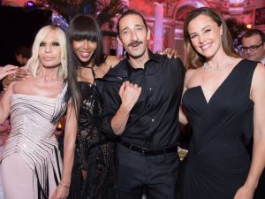 Donatella Versace, Naomi Campbell, Adrien Brody, Jennifer Garner