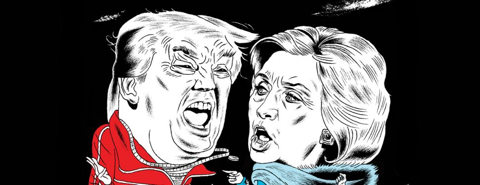 Donald Trump, Hillary Clinton and the Presidential Battle of New York