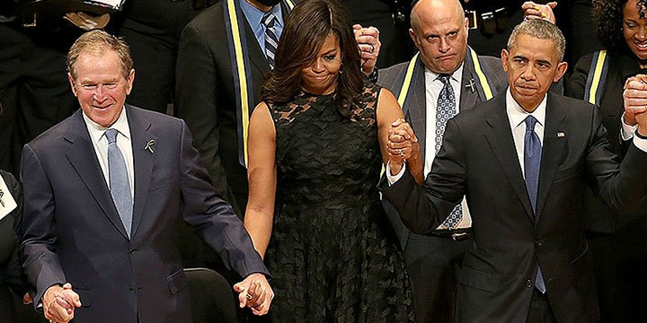 He Can Dance If He Wants to: A Liberal Defends George W. Bush at the Dallas Memorial
