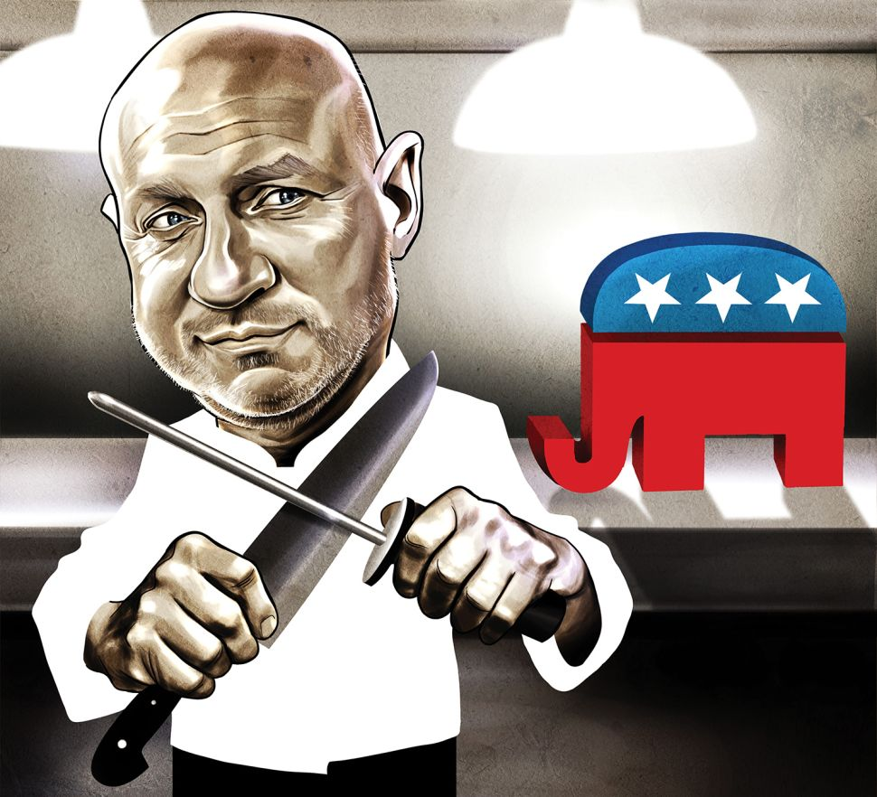 Tom Colicchio Hopes to Chop at Least One Republican Per Cycle