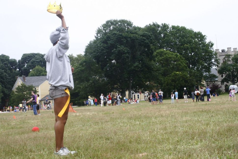 See the Crazy Game Fest That Went Down on Governor's Island [Photos]