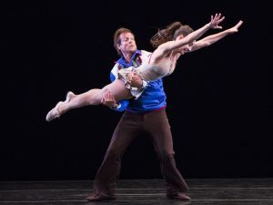 "John Selya and Amy Ruggiero in ""Country Dances"" by Twyla Tharp."
