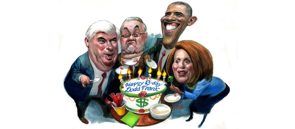 Happy Birthday Dodd-Frank!