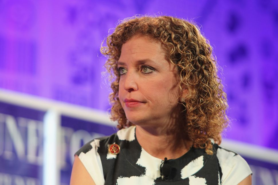 Ousted DNC Chief Debbie Wasserman Schultz Was a Pugnacious Candidate