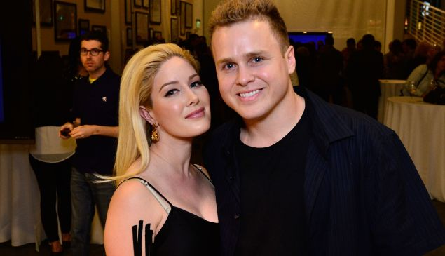 BEVERLY HILLS, CA - MARCH 19: Heidi Montag and Spencer Pratt attend WE Tv Presents: The Evolution of Relationship Reality Shows at The Paley Center For Media on March 19, 2015 in Beverly Hills, California.