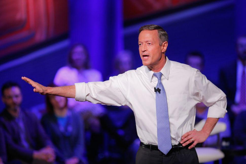 O'Malley Raising Money for Atlantic County Democrats