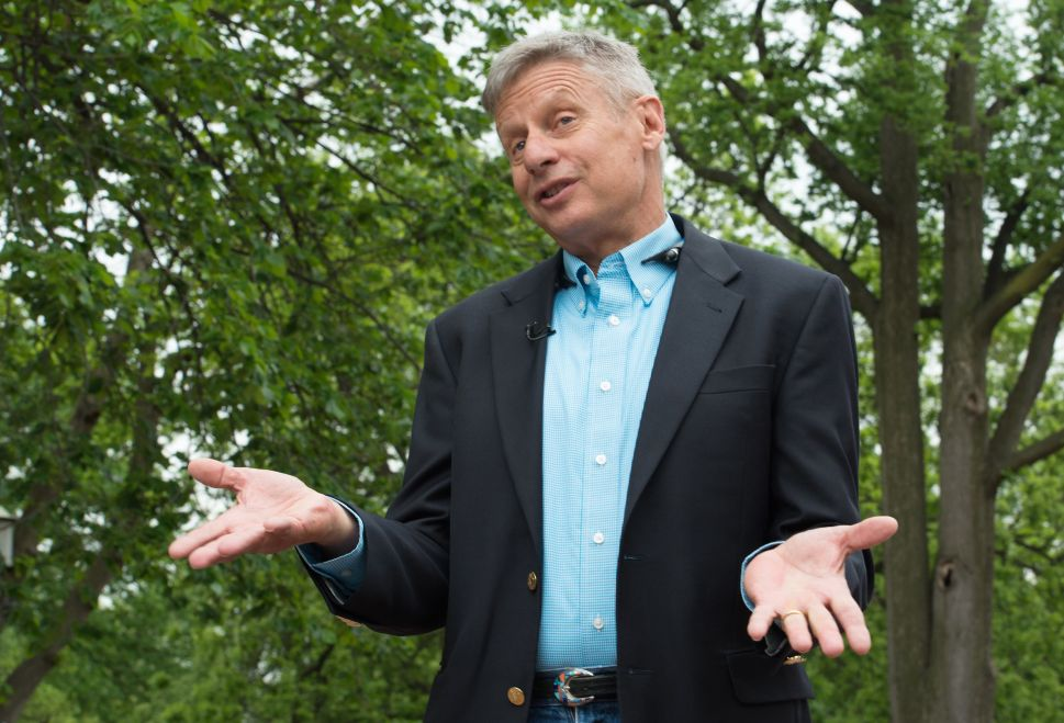 Gary Johnson's Quest to Shake Up The Race